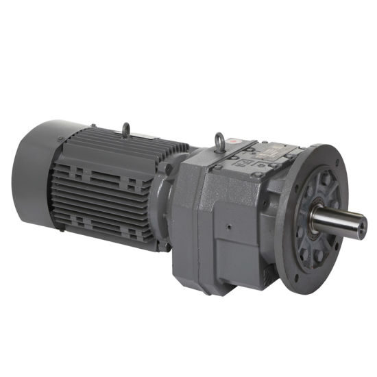 in-Line Helical Gearing Gearbox with Flange pictures & photos