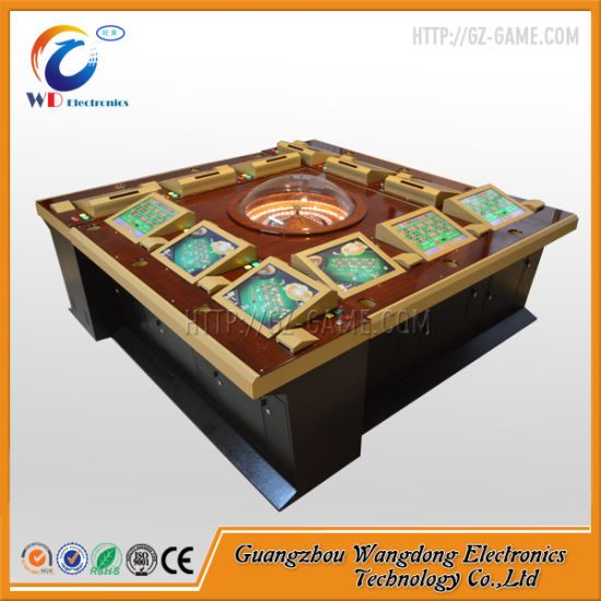 Wangdong 12 Players Touch Screen Electronic Casino Roulette Machine pictures & photos