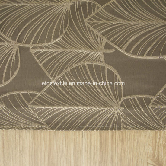 Top Grade Modern Pattern Polyester Window Curtain Fabric pictures & photos