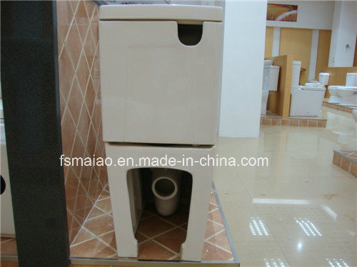 Watermark Universal Sewage Drainage Way Two Piece Ceramic Toilet (2051A) pictures & photos