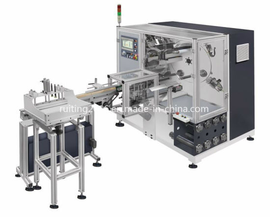 High Speed Non-Stop Vertical Turrent Rewinder with Auto Core Loading System