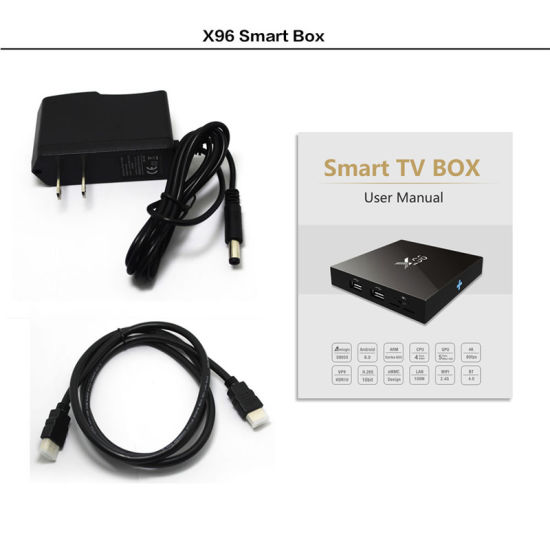 Hot X96 Android TV Box Pre-Installed Kodi 16.1 S905X Android 6.0 TV Box pictures & photos