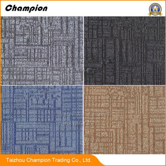 New Delhi Cheap Prices PP+Bitumen 3D Carpet Tiles for Home, Office