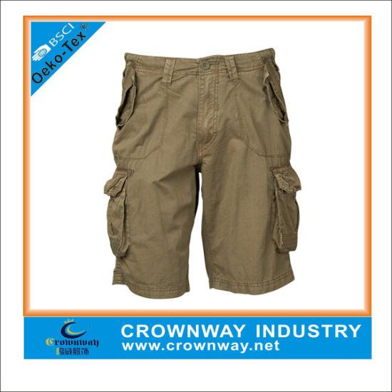 65380edade52 China Summer Custom Cheap Men′s Cargo Half Pants Shorts - China ...