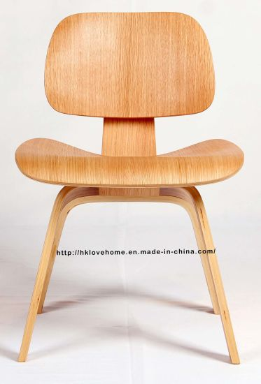 Modern Restaurant Leisure Pkywood Eames Wooden Norman Cherner Chair