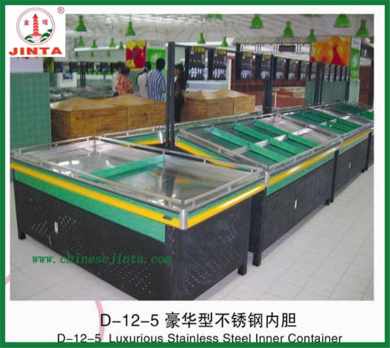 Stainless Steel Fruit and Vegetable Display Stand pictures & photos