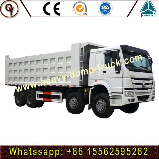 Hot Price China Sinotruk HOWO 8X4 12wheel Heavy Duty Dump Truck Heavy Truck