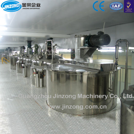 500L-5000L Shower Gel Making Machine