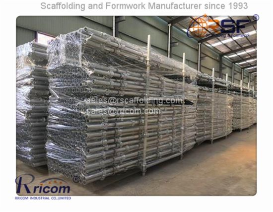 Construction Used Cuplock Scaffolding for Sale pictures & photos
