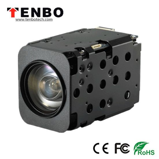 2megapixels 1080P F4.7-94mm 20X Optical Zoom Lens 32X Digital Zoom Starlight CMOS CCTV Block Ahd Zoom Camera Module with Ahd CVBS Output pictures & photos