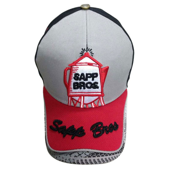 Promotional Constructed Baseball Cap with Heavy Embroidery pictures & photos