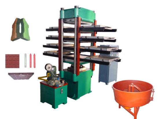 Automatic Rubber Flooring Tile Vulcanizing Machine