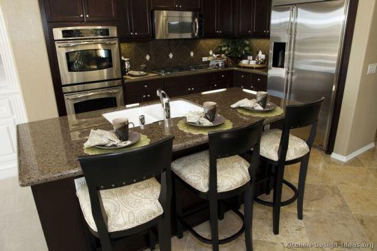 China Dark Espresso Kitchen Cabinets De8 China Kitchen Cabinet Brown Ktichen