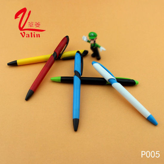 Supply High Quality Colorful Ballpoint Pen Promotional Plastic Pen on Sell pictures & photos