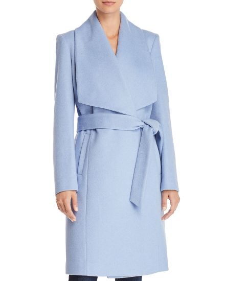 Women Fashion Winter 100% Wool Coats with Long Sleeve