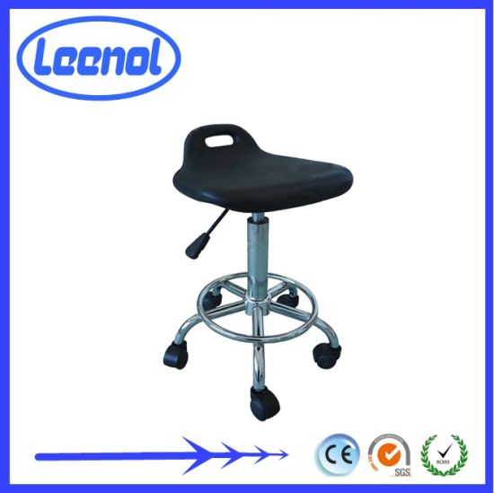 Black Conductive Brown Leather Office Chair in Other safety Products (LN-2310A) pictures & photos
