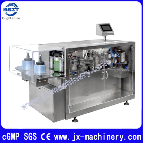 Plastic Drinkable Ampoule Liquid Filling Sealing Packing Machine (lower speed DSM) pictures & photos