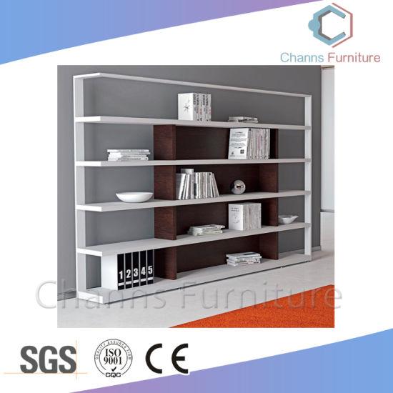 High Quality Wooden Bookshelf Office Display Rack (CAS-FC1816)