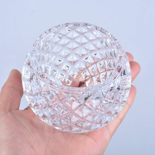 Glass Candle Holder for Wedding Decoration