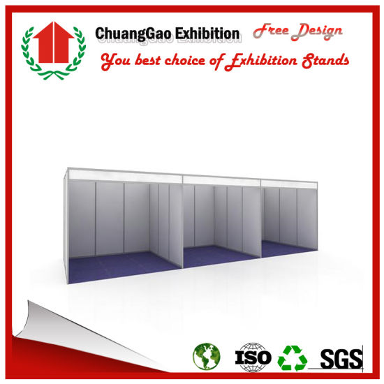 3X6 Standard Exhibition Booth Trade Show Stand Display Stand