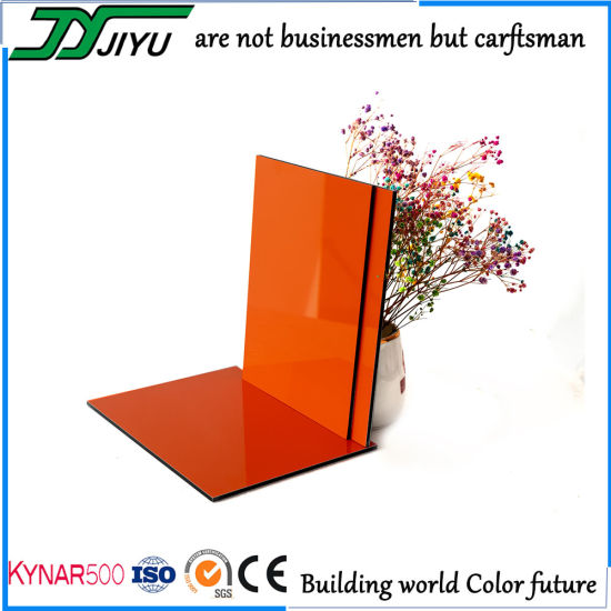 Jiyu PVDF Aluminum Composite Panel for Outdoor Wall Cladding