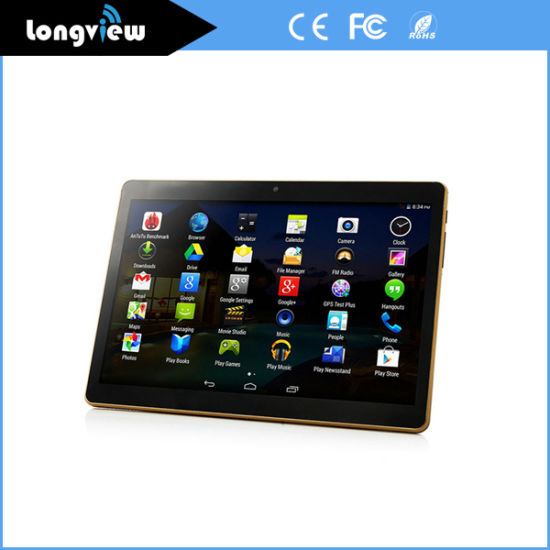 10 Inch IPS Screen Android Quad Core Tablet with 2 SIM Card WCDMA 850/2100 GPS FM
