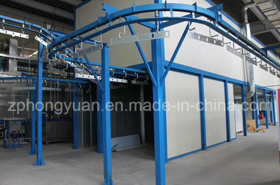 Automatic Electrostatic Powder Coating Line for Sale