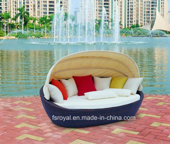 Patio Furniture Daybed Outdoor Beach Sunben Sun Lounger