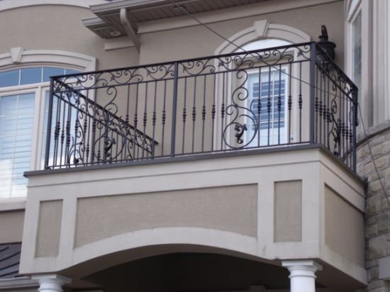 Steel and Wrought Metal Iron Railing for Stair & Balcony