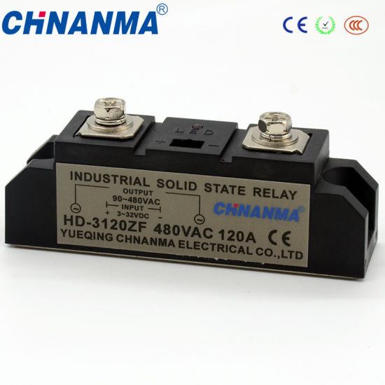 Industrial DC Solid State Relay 150A SSR on
