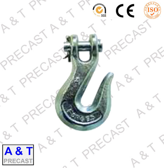 High Strength Alloy Steel Forged Clevis Grab Hook pictures & photos