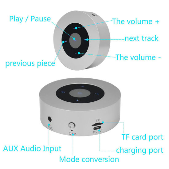 Hot Selling Multimedia Bluetooth Wireless Mini Portable Speaker with Touch Screen pictures & photos