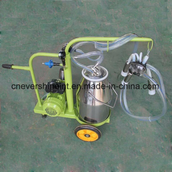 Electrical Vacuum Pump Cow Milking Machine Powder Coasting Painting