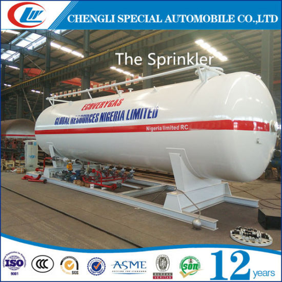 Clw 20t LPG Gas Filling Station for Sale