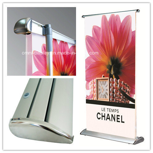 Scrolling Roll up Banner Stand (DW-B-N-3) pictures & photos
