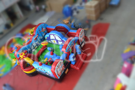 Rescue Game Bouncer Inflatable Obstacle Kids Amusement Park Chob333 pictures & photos