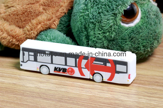Customized USB Stick (Bus) Promotional Gift Pendrive with Client Design OEM&ODM Orders