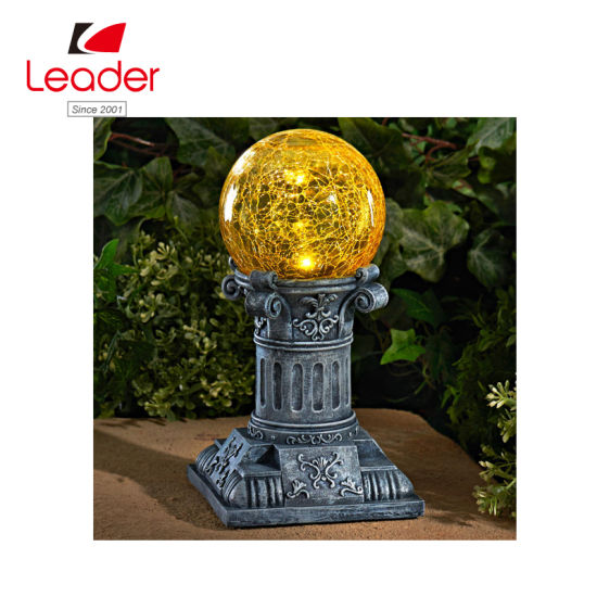 BSCI Audited Factory Solar Glass Gazing Ball for Solar Light, Garden Light Decor pictures & photos