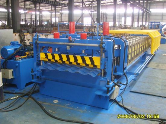 Trapezoidal Cold Metal Roof Roll Forming Machine