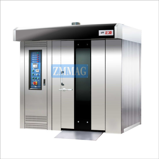 32 Trays Rotary Mini Spiral Steam Rack Oven From China (ZMZ-32C)