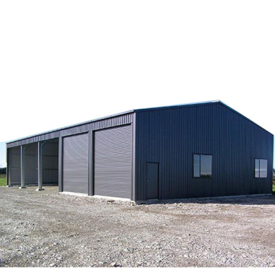 Standard Cheap Portal Frame Steel Structure Prefab House pictures & photos