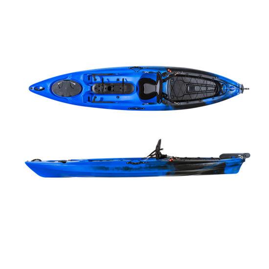 LLDPE Single Cheap Plastic Rowing Boat PRO 12FT Fishing Kayak
