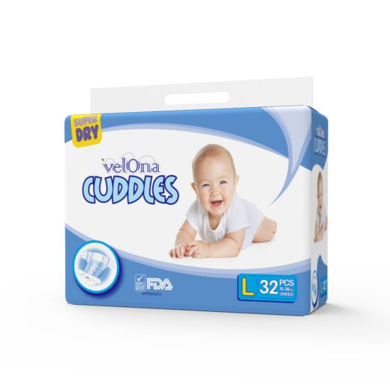 BESUPER Velona Cuddles T Shape Daily and Sleepy Use Wholesale Baby Diapers