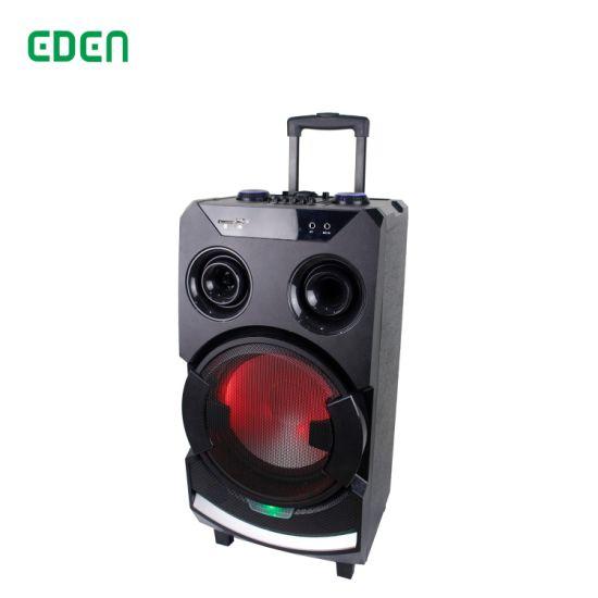 Portable Wireless Professional Rechargeable Multimedia DJ Karaoke Sound Box Trolley Bluetooth PA Speaker