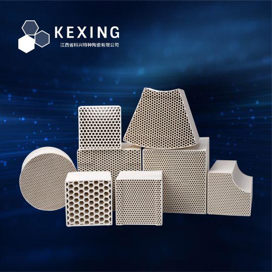 Alumina, Cordierite, Mullite, CorundumHoneycomb Ceramic Monolith for Rto, Rco