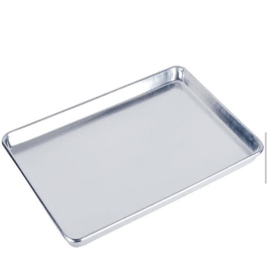 18X26 Wire Mesh Baking Sheets Silicone Coated Baking Sheet Pan Metal 4 Sided Bread Trays Standard Sheet Pans