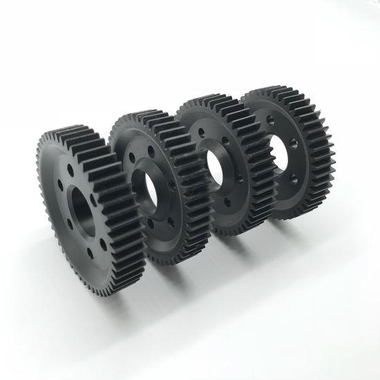 Precision Aluminum Customized CNC Auto Spare Machining Components