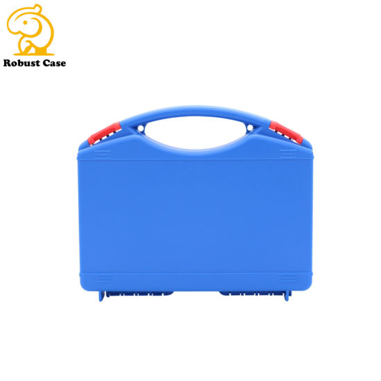 China Factory Moderate Price Injection Molded Plastic Tool Case with Precut Foam