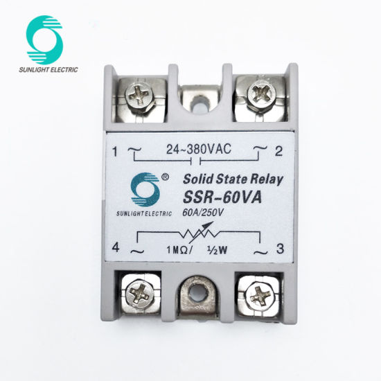 China SSR Series Single Phase AC Solid State Voltage Regulator Ssvr
