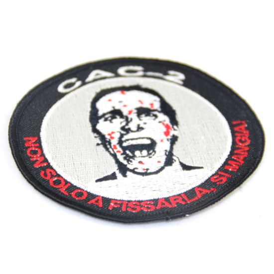 China Direct Factory Custom Image Embroidery Patches for Clothes